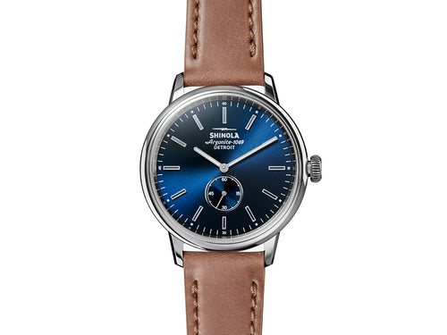 "The ""Bedrock"" 42MM Men's Watch by Shinola"