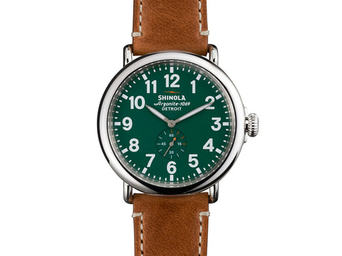 The Runwell Sport Chrono 48MM Men's Watch by Shinola
