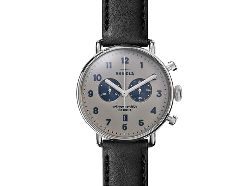 The Canfield Chrono 43MM Men's Watch by Shinola