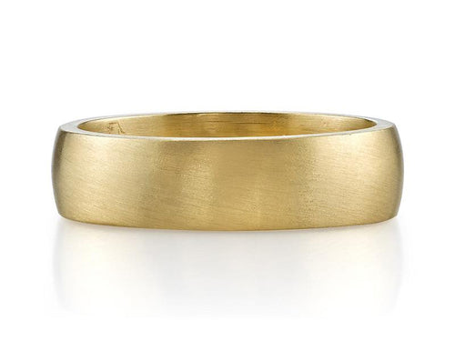 "18K Yellow Gold ""Joseph"" Men's Wedding Band"