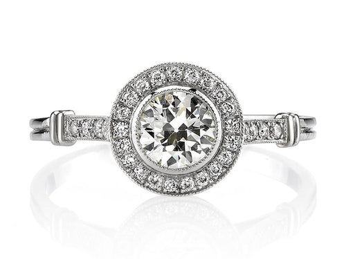 "Platinum and Diamond ""Aimee"" Engagement Ring"