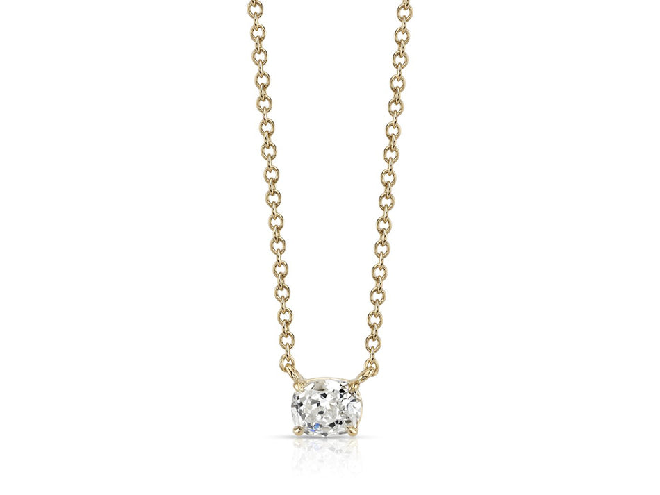 Single Stone Diamond Necklace at the Best Jewelry Store in Washington DC