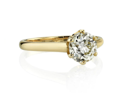 "Diamond Solitaire ""Blaire"" Ring"