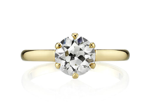 "Diamond Solitaire ""Blaire"" Engagement Ring"