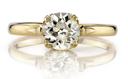 "Solitaire Diamond ""Sydnee"" Engagement Ring"