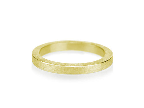 Simple Mens Yellow Gold Band at the Best Jewelry Store in Washington DC