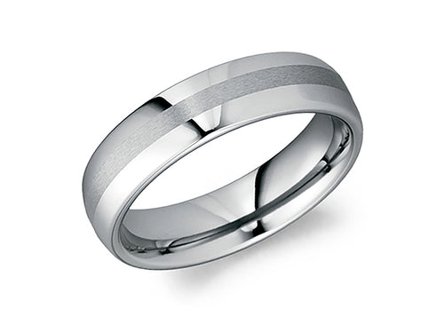 Tungsten Carbide Men's Wedding Band at the Best Jewelry Store in Washington DC