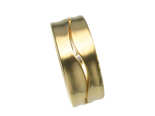 Vincent Van Hees Mens Wedding Band Washington DC