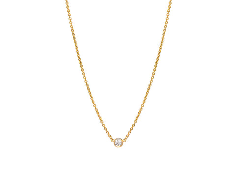 Multi-Strand 18K White Gold  Diamond Necklace