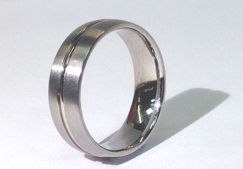 Cobalt Men's Wedding Band