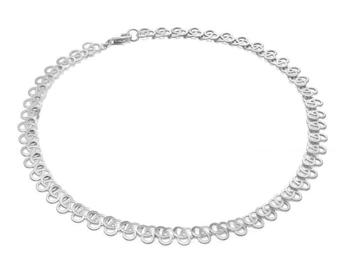 "Sterling Silver ""Trellis"" Necklace"