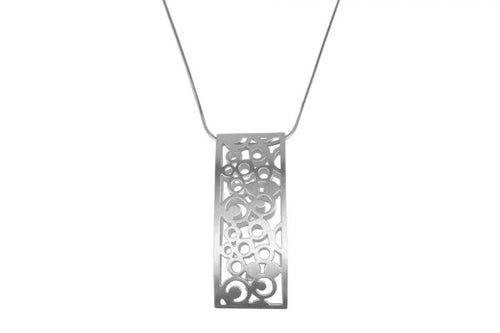 "Sterling Silver ""Pop Dot"" Necklace"