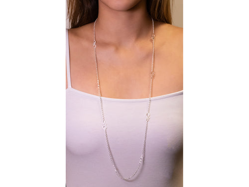 "Silver ""Soda Pop"" Necklace"