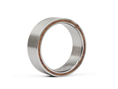 Raw Diamond Cube Men's Wedding Band
