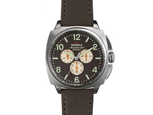 "The ""Brakeman"" Chrono 46MM Men's Watch by Shinola"