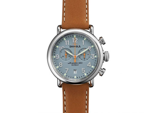 The Runwell Chrono 41MM Watch by Shinola