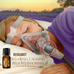 CPAP Infusion Adapter for Essential Oils  | With FREE Lavender Sample and 5 FREE Refill Pads | Universal Fits All CPAP Hoses |