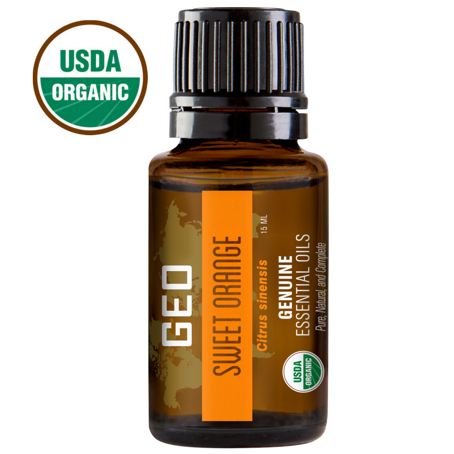 Sweet Orange Organic Essential Oil - 15 ml