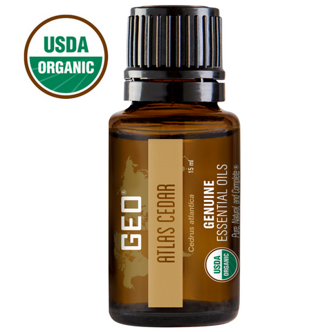 Atlas Cedar Organic Essential Oil - 15 ml