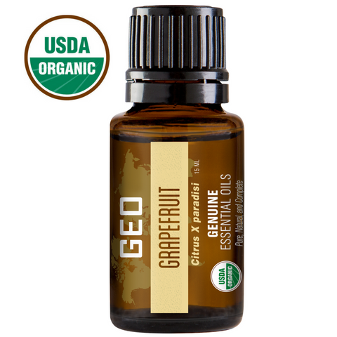 Grapefruit Organic Essential Oil - 15 ml