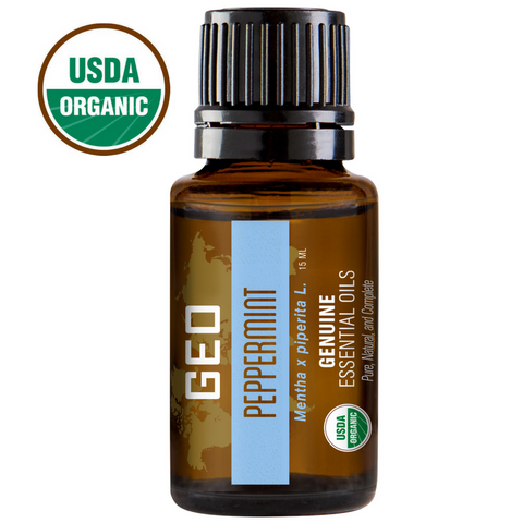 Peppermint Organic Essential Oil - 15 ml