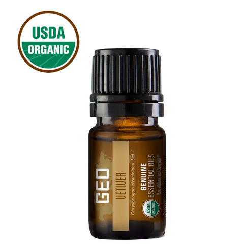 Vetiver Organic Essential Oil - 5 ml