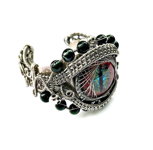 The Eye to the Dragon Cuff Bracelet