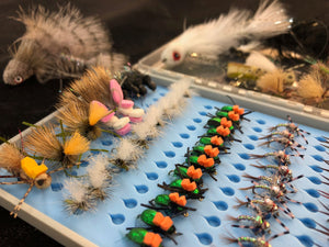 Fly Tying Eastern Slopes flies - Winter 2021