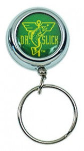 Dr. Slick Clip-On Reel With Silver O-Ring