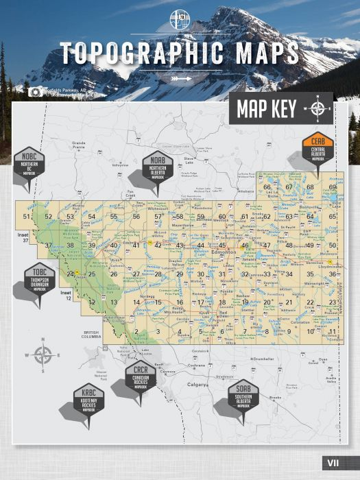 Backroad Mapbook Central Alberta 5th Edition
