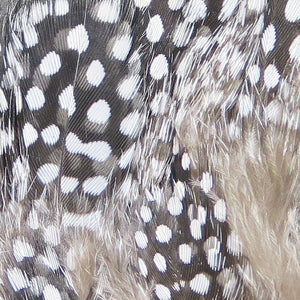 Hareline Strung Guinea Fowl Feathers