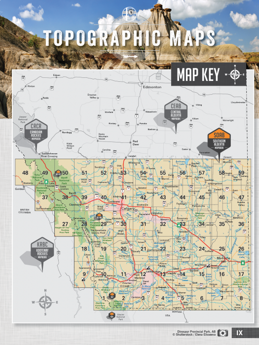Backroad Mapbook Southern Alberta 5th Edition