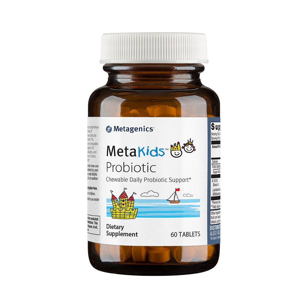 Metagenics MetaKids Probiotic 60 chewable Tabs