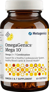 Metagenics OmegaGenics Mega 10 - 60 Softgels
