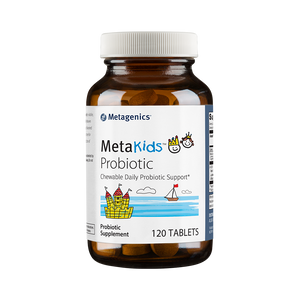 Metagenics MetaKids Probiotic - 120 chewable tabs