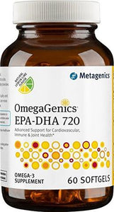 Metagenics-OmegaGenics EPA-DHA 720 lemon-60softgels