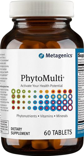 Metagenics PhytoMulti without Iron - 60 Tablets