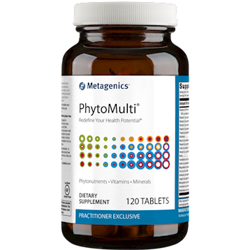 Metagenics PhytoMulti without Iron - 120 Tablets