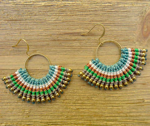 earring, multi-colored