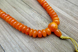 necklace, handmade, amber, mala