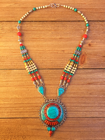 necklace, handmade
