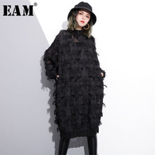 [EAM] 2020 New Spring Autumn Stand Collar Long Sleeve