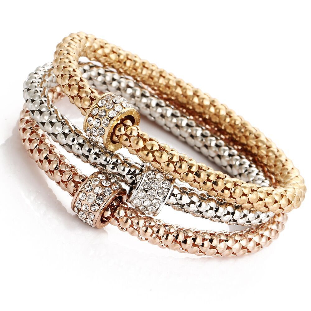 Stretch Bracelet with Ring Charm