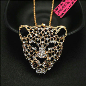 Betsey Johnson Leopard Necklace