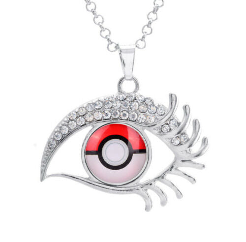 Pokemon Evil Eye Snap Necklace