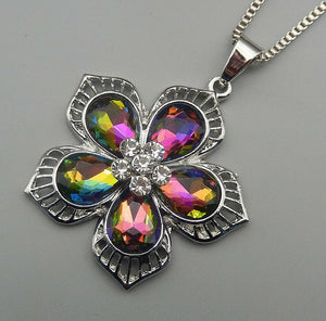Betsey Johnson Iridescent Flower