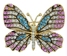 Pastel Butterfly Pin