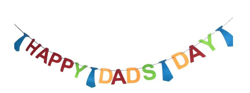 Happy Dad's Day Banner