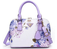 Purple Floral Bag