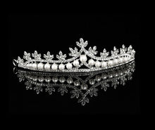Rhinestone and Pearl Tiara